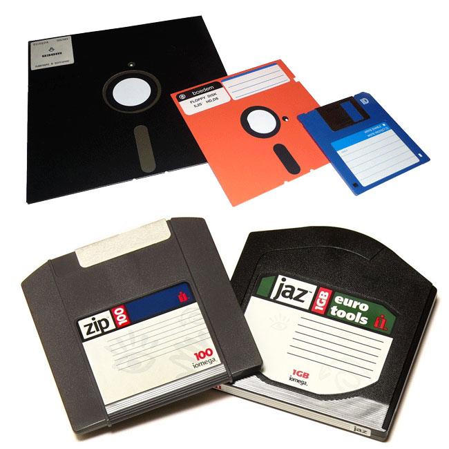 Old Disk Formats
